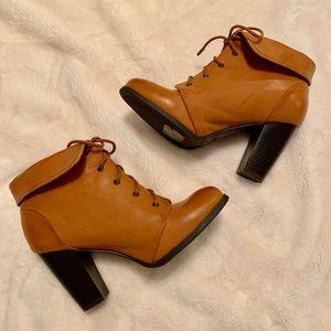 Bamboo Heeled Boot
